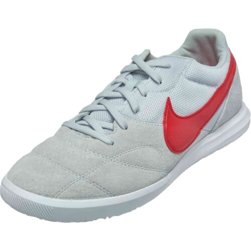 Nike Premier II Sala – Pure Platinum/University Red/White