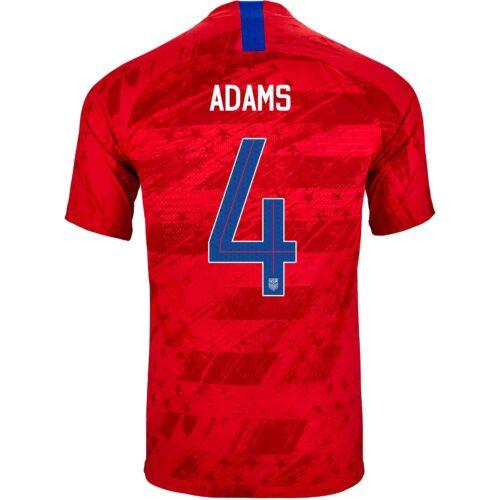 2019 Nike Tyler Adams USMNT Away Match Jersey