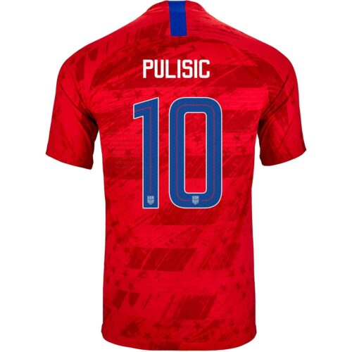 2019 Nike Christian Pulisic USMNT Away Match Jersey