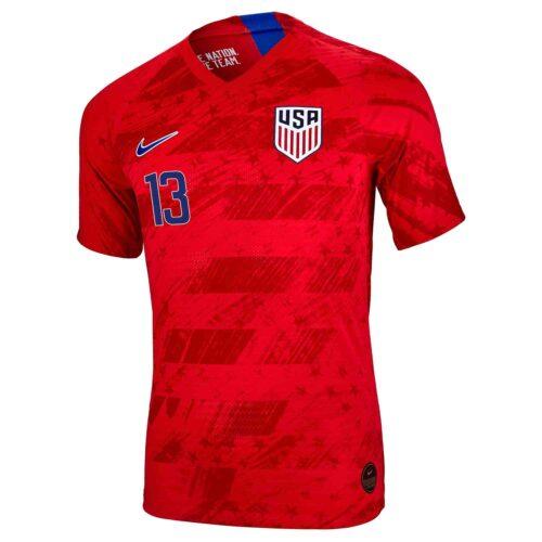 2019 Nike Josh Sargent USMNT Away Match Jersey