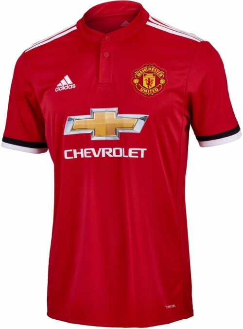 2017/18 adidas Kids Manchester United Home Jersey