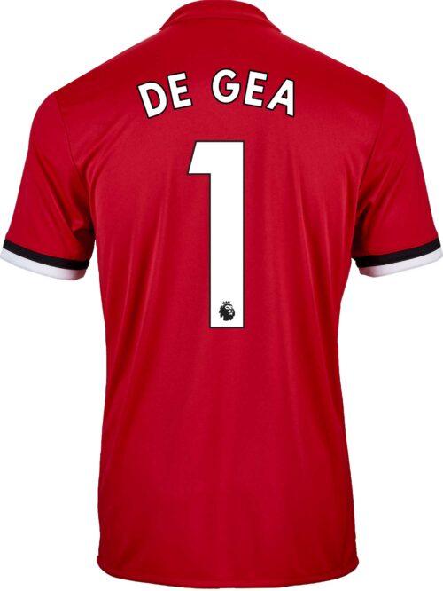 2017/18 adidas Kids David de Gea Manchester United Home Jersey