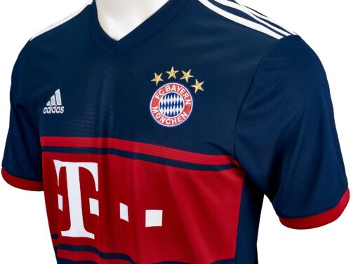 2017/18 adidas Kids Bayern Munich Away Jersey
