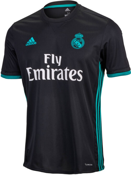 adidas Kids Real Madrid Away Jersey 2017-18 NS
