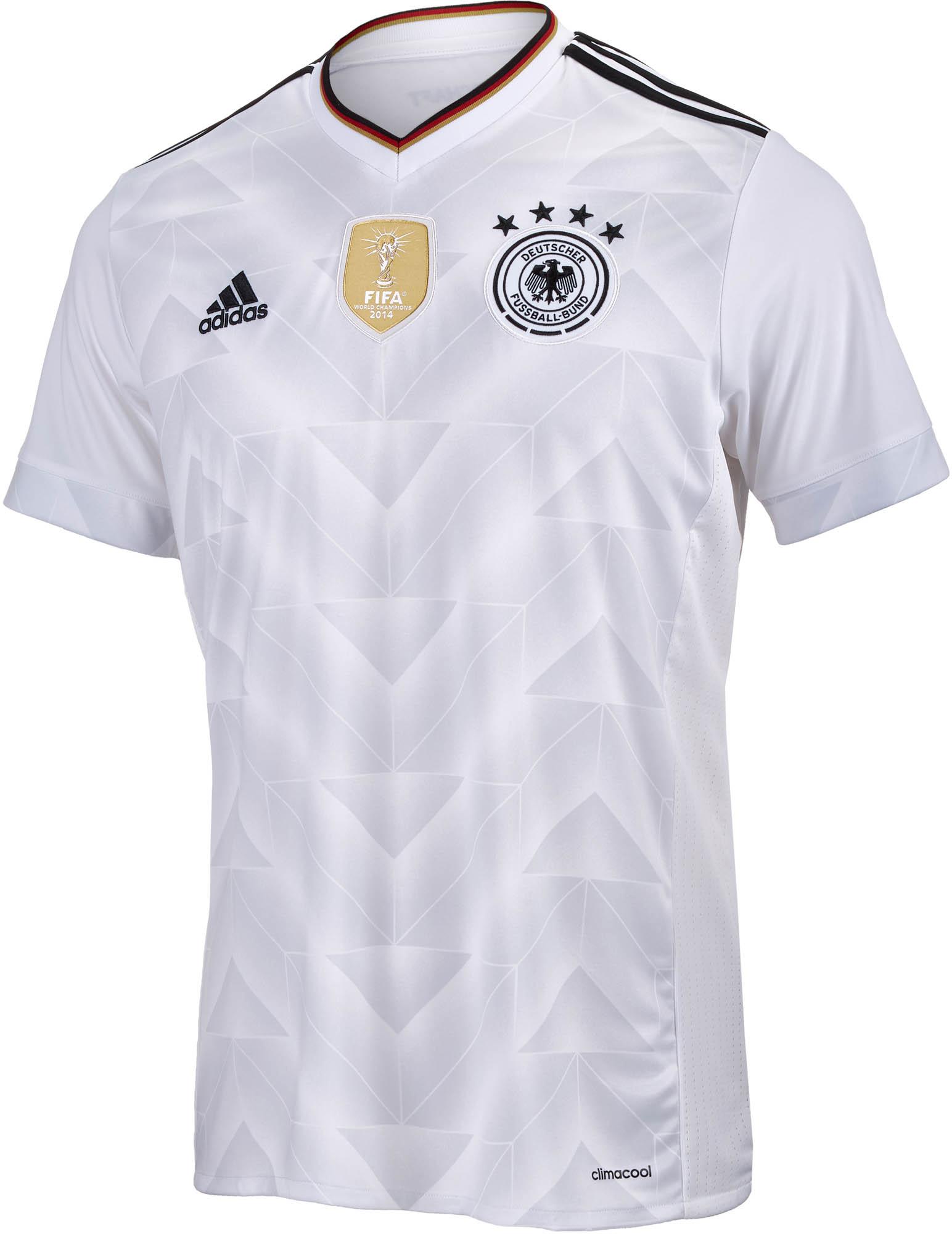 b3512fefaf40 adidas Kids 2017/18 Germany Home Soccer Jerseys