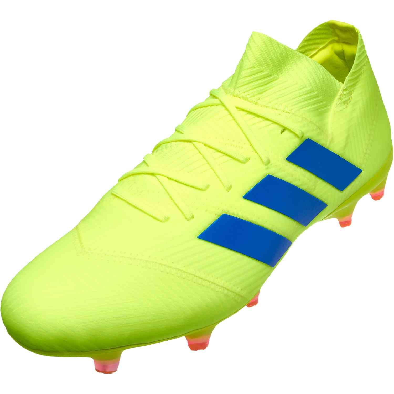 8c4dbeb43640 adidas NEMEZIZ 18.1 FG - Exhibit Pack - SoccerPro