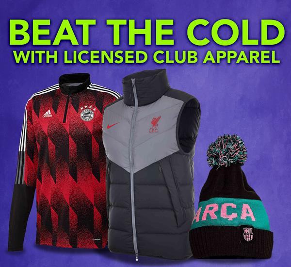 club licensed apparel