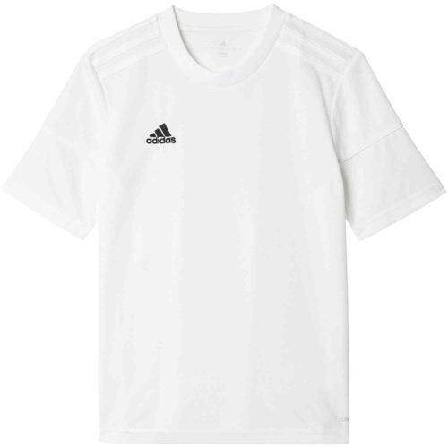 Kids adidas Squadra 17 Jersey – White