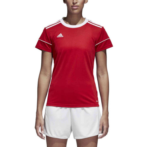 Womens adidas Squadra 17 Jersey – Power Red
