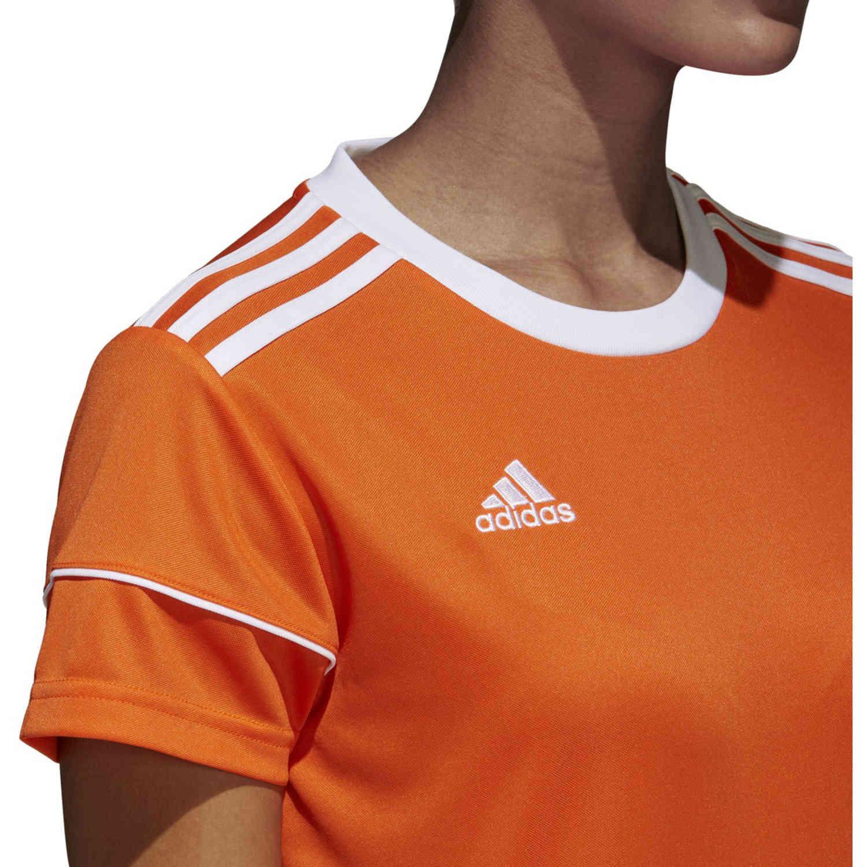 Womens adidas Squadra 17 Jersey - Orange - SoccerPro