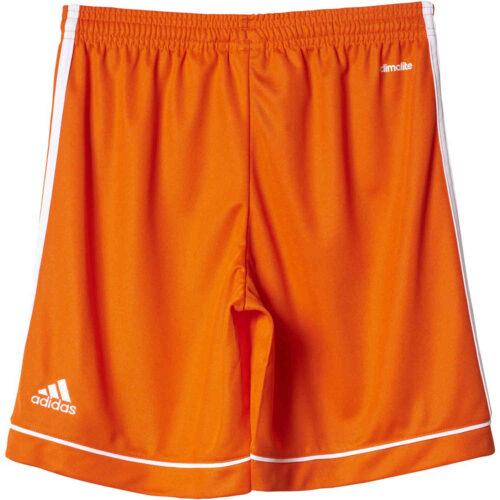 Kids adidas Squadra 17 Shorts – Orange