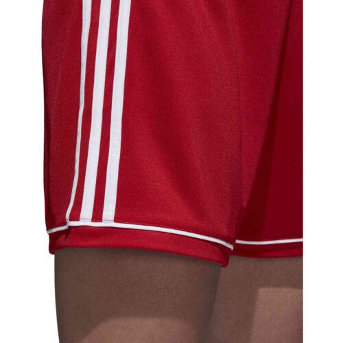 Womens adidas Squadra 17 Shorts – Power Red