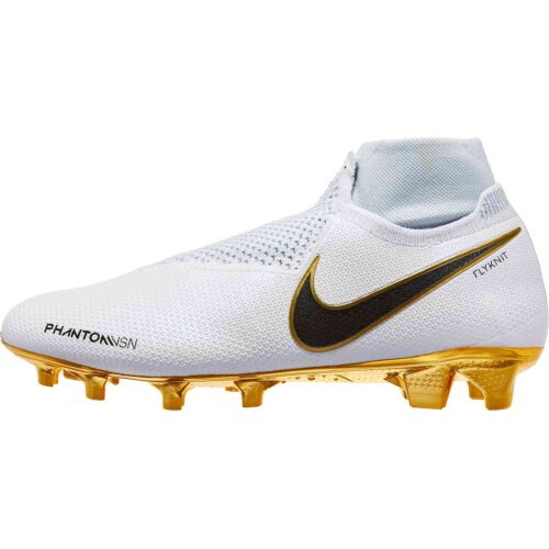 Nike Phantom Vision Elite FG – LTD – White/Metallic Gold