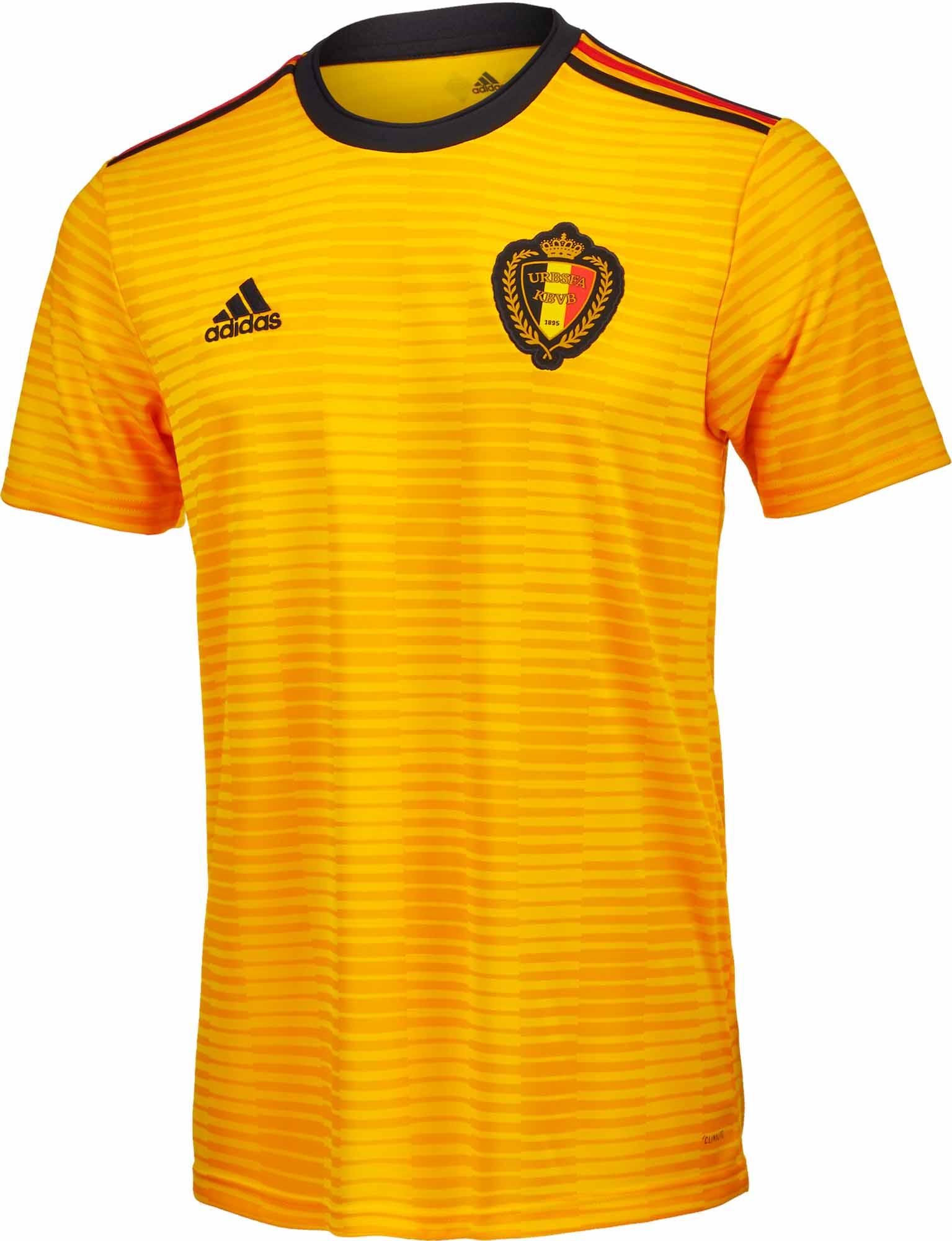 053cd12a328 adidas Belgium Away Jersey 2018-19 - SoccerPro.com