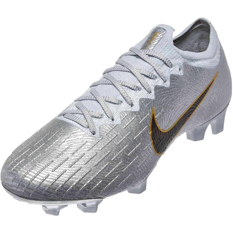 78e6000f6 Nike Mercurial Vapor 12 Elite FG - SE - Pure Platinum/Black - SoccerPro