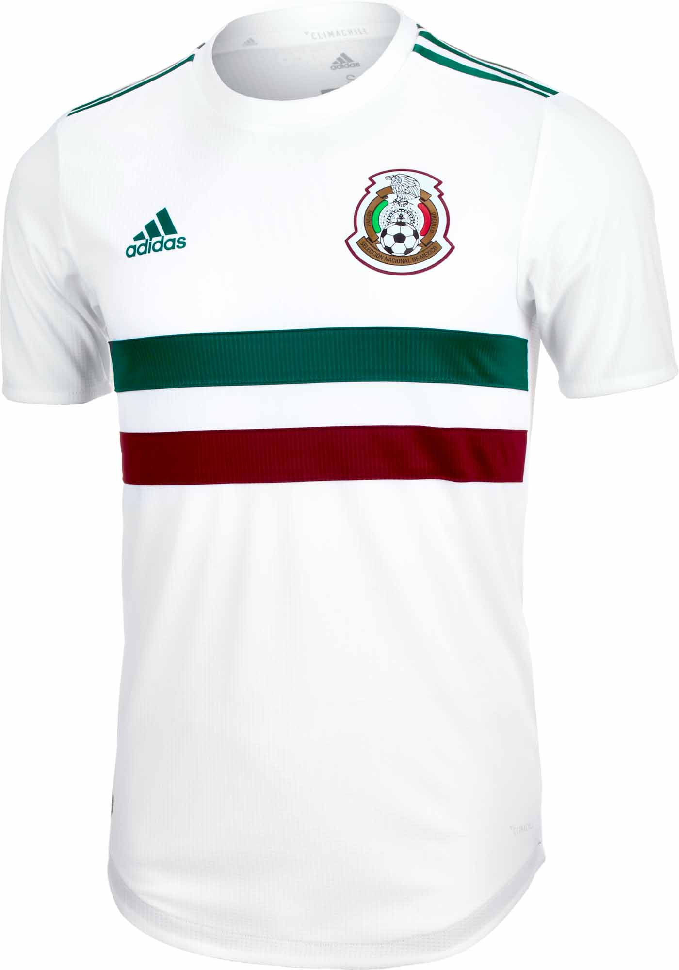 ce801288c adidas Mexico Authentic Away Jersey 2018-19 - SoccerPro.com