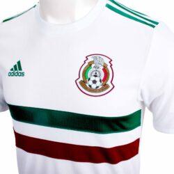 89d8d4135 adidas Mexico Authentic Away Jersey 2018-19 - SoccerPro.com