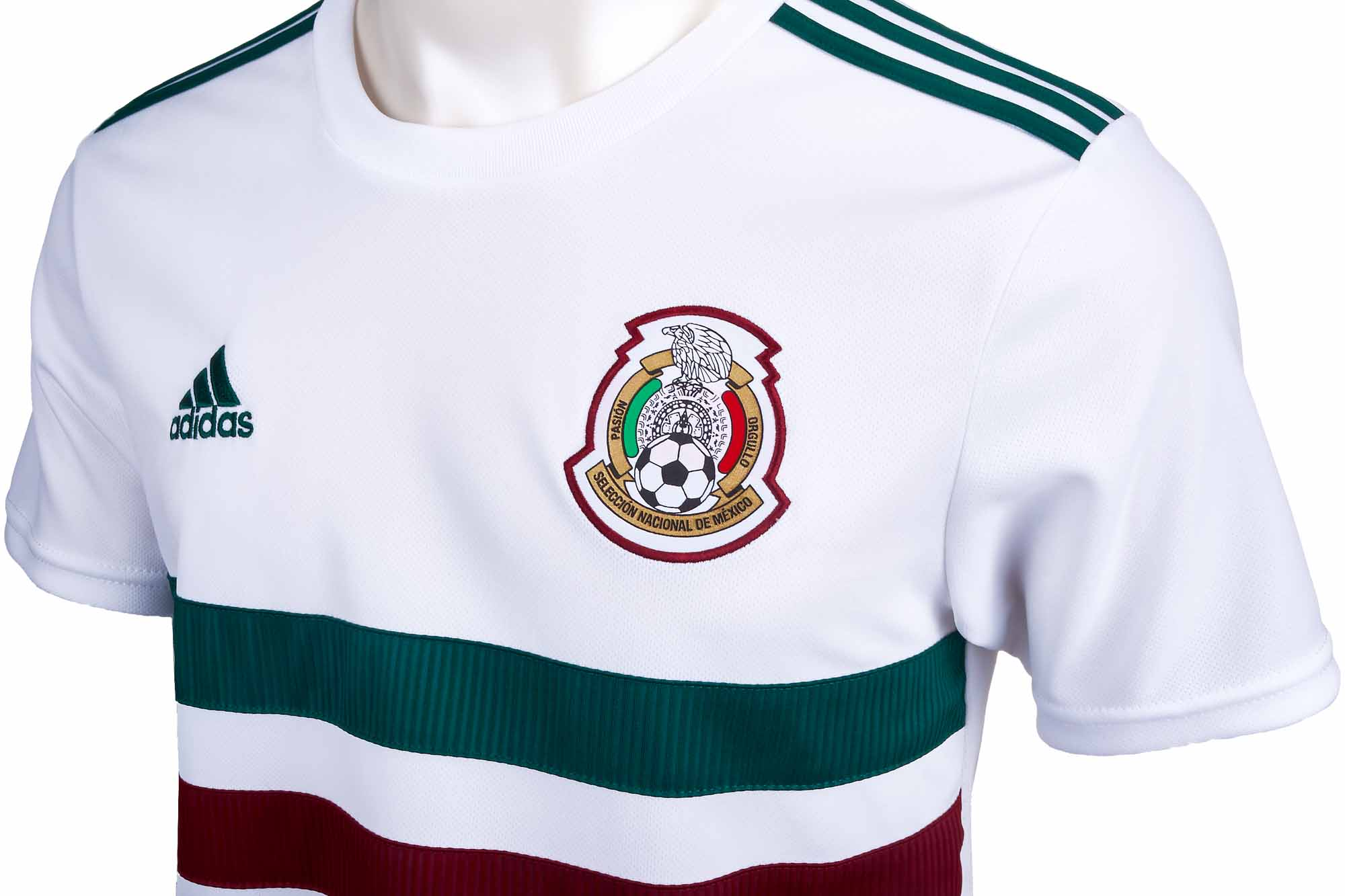 54317c5b52f Mexico Away Jersey - Youth 2018-19 - SOccerPro.com