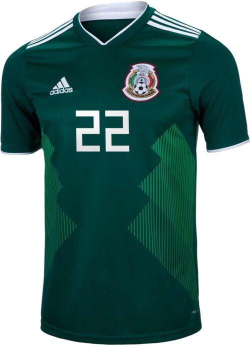 2018/19 adidas Hirving Lozano Mexico Home Jersey