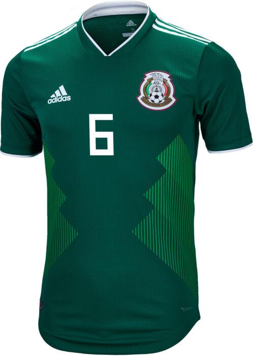 2018/19 adidas Jonathan dos Santos Mexico Authentic Home Jersey