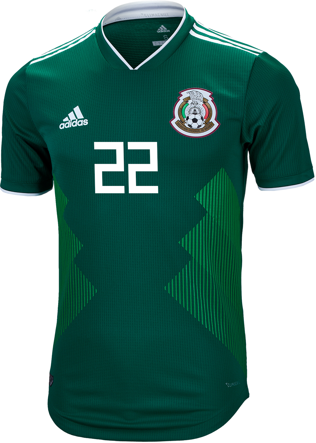 142bcdd68 2018 19 adidas Hirving Lozano Mexico Authentic Home Jersey - SoccerPro