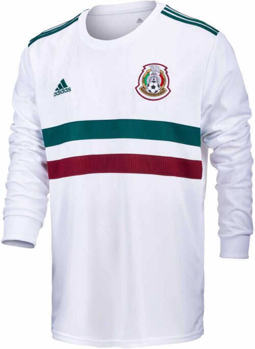 adidas Mexico L/S Away Jersey 2018-19 NS