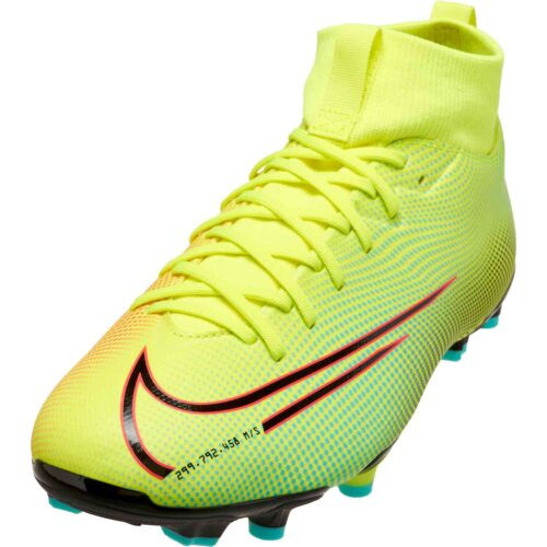 Kids Nike MDS Mercurial Superfly 7 Academy FG – Lemon Venom
