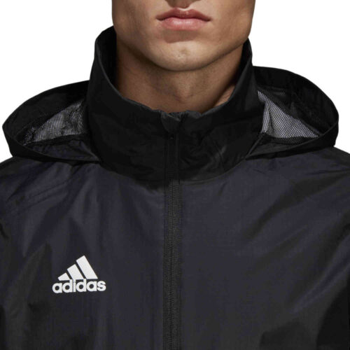 adidas Condivo 18 Storm Jacket – Black/White