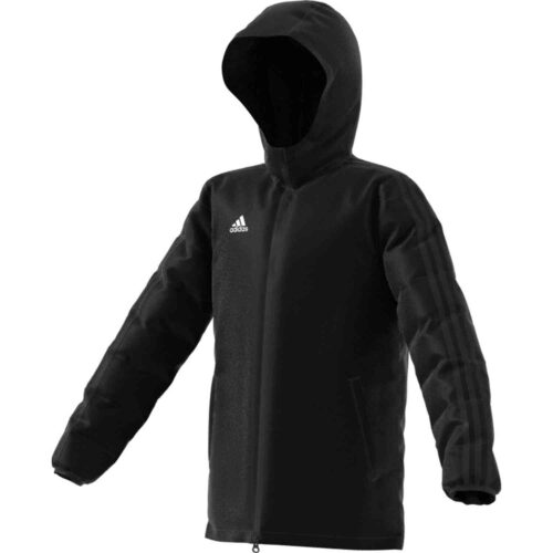 Kids adidas Winter Jacket – Black/White