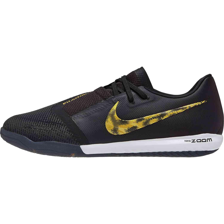 ae47cf398 Nike Phantom Venom Pro IC - Black Lux - SoccerPro