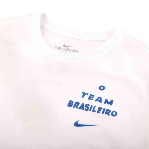 Nike Copa America Brazil Heritage Tee – White