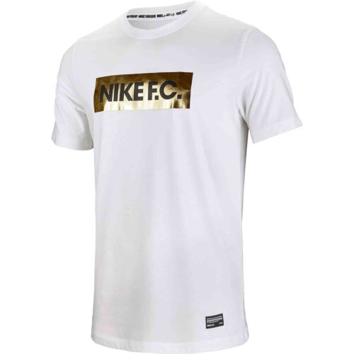 Nike FC Gold Block Tee – White