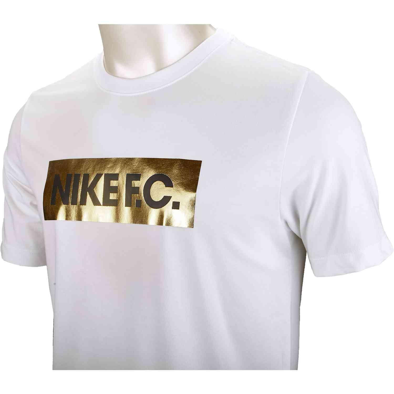 Nike FC Tee White   soccerloco
