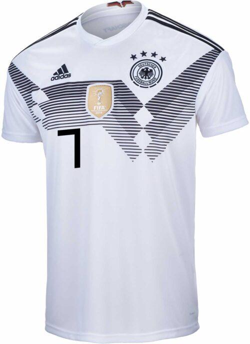 adidas Julian Draxler Germany Home Jersey 2018-19 – Youth