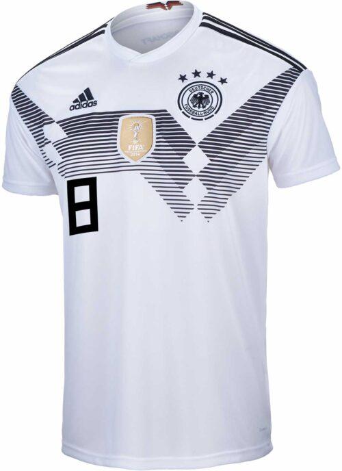 adidas Kids Toni Kroos Germany Home Jersey 2018-19