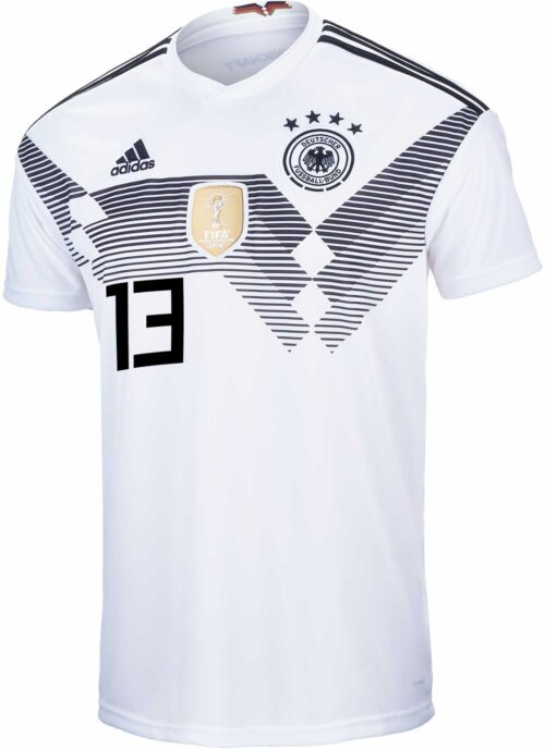 adidas Youth Thomas Muller Germany Home Jersey 2018-19