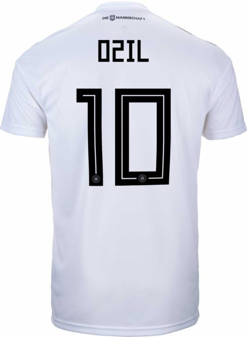 adidas Kids Mesut Ozil Germany Home Jersey 2018-19