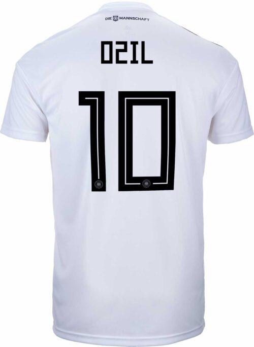 adidas Kids Mesut Ozil Germany Home Jersey 2018-19