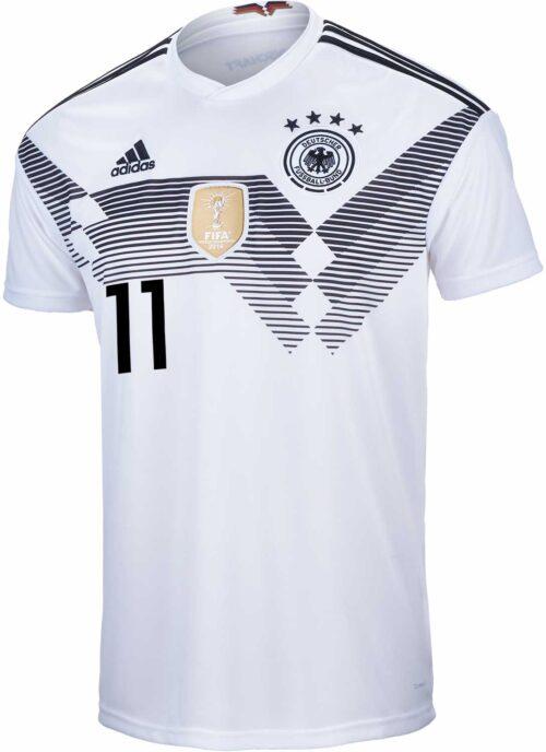 adidas Kids Marco Reus Germany Home Jersey 2018-19