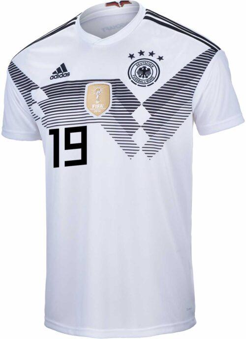 adidas Leroy Sane Germany Home Jersey 2018-19 – Youth