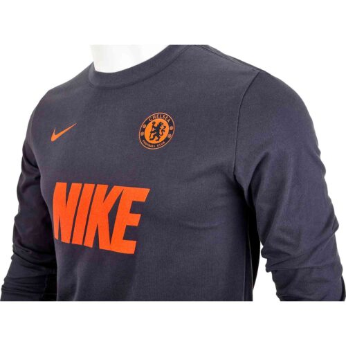Nike Chelsea L/S Match Tee – Anthracite