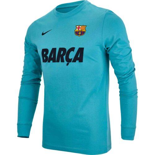 Nike Barcelona L/S Match Tee – Cabana