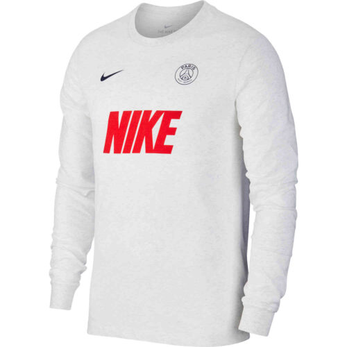 Nike PSG L/S Match Tee – Birch Heather