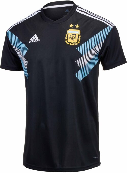 adidas Kids Argentina Away Jersey 2018-19 NS