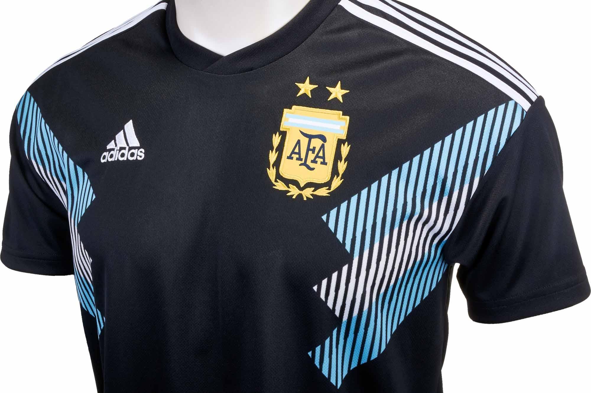 fea02a36f34 adidas Kids Argentina Away Jersey 2018-19 - SoccerPro.com