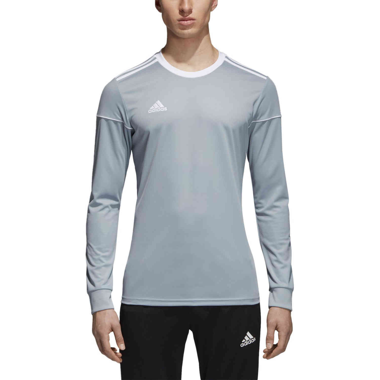 adidas Squadra 17 LS Jersey Light Grey SoccerPro
