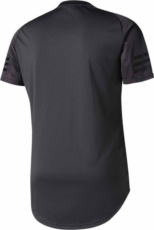 adidas Real Madrid SSP Tee – Winter Pack – Solid Grey/Black