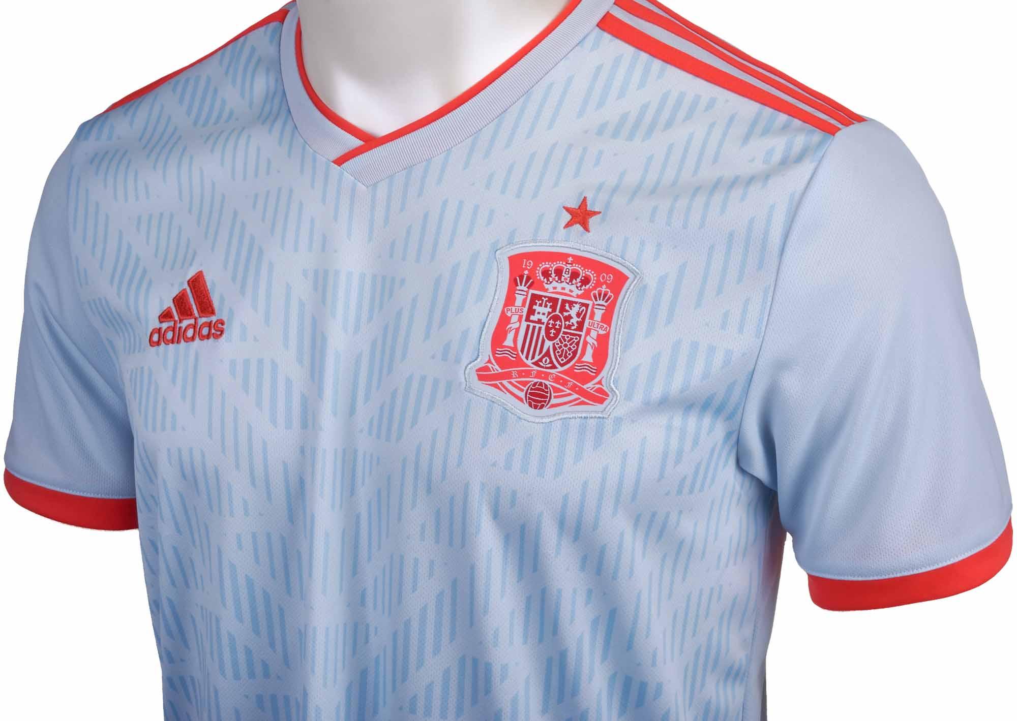 adidas Spain Away Jersey 2018-19 - SoccerPro.com 2283e5f34