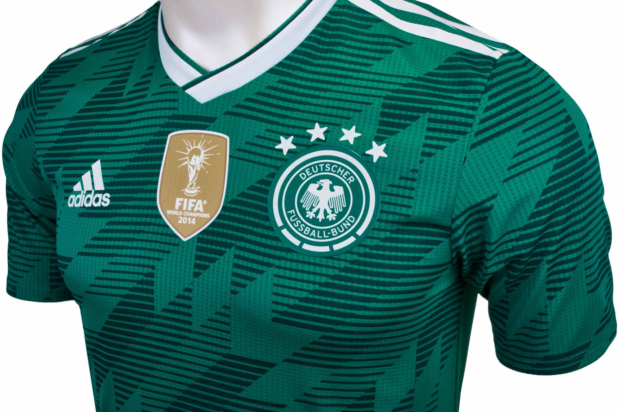 8e8de83d3ecb adidas Germany Authentic Away Jersey 2018-19 - SoccerPro.com