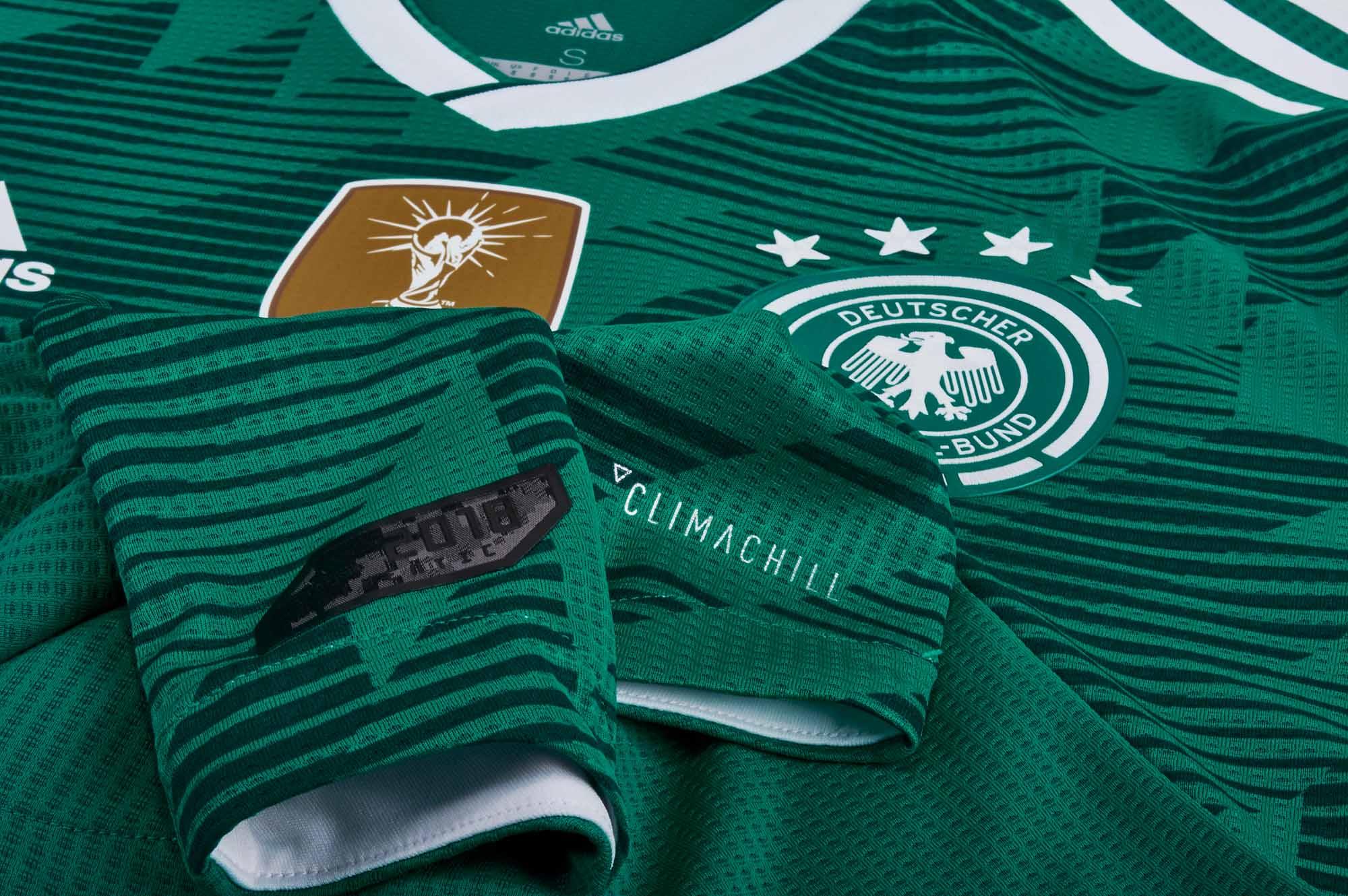 b77e03675ad adidas Germany Authentic Away Jersey 2018-19 - SoccerPro.com